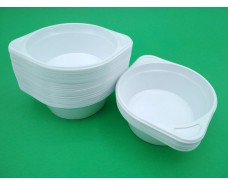 Одноразовая миска  пластиковая 300 мл  (100 шт)