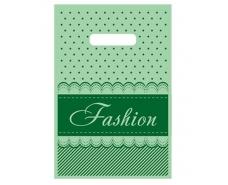 """Пакеты с вырубной ручкой (20*30)""""Fashion полоска""""Леоми (100 шт)"""