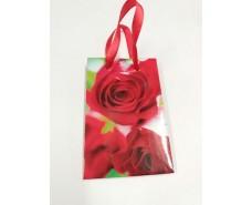 Пакет бумажный подарочный  МИНИ 8*12*3.5 арт45 (12 шт)