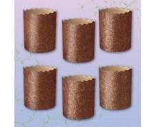 Форма для Пасхи бумажная (85*70) Итальянские(150гр) (50 шт)