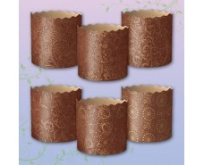 Форма для выпечки пасхального кулича (85*90) Итальянские(250гр) (50 шт)