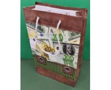 Бумажный пакет подарочный Средний 17/26/8 (артSV-085) (12 шт)