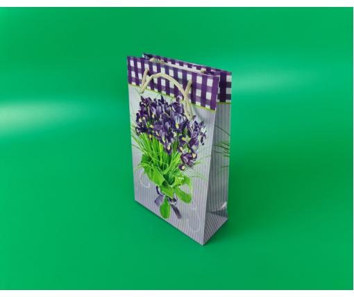Бумажный пакет подарочный Средний 17/26/8 (артSV-087) (12 шт)