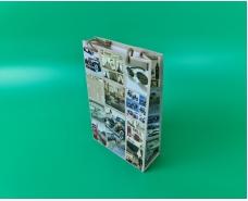 Бумажный пакет подарочный Средний 17/26/8 (артSV-090) (12 шт)