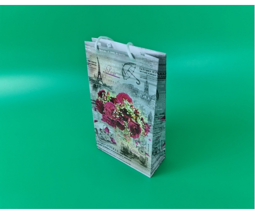 Бумажный пакет подарочный Средний 17/26/8 (артSV-089) (12 шт)