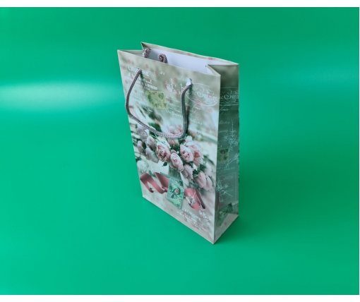 Бумажный пакет подарочный Средний 17/26/8 (артSV-080) (12 шт)