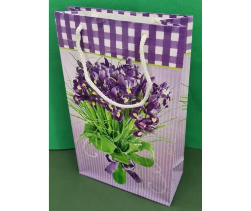 Бумажный пакет подарочный Средний 17/26/8 (артSV-079) (12 шт)