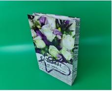 Пакет бумажный Большой вертикальный 25/37/8(артBV-070) (12 шт)