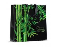 Сумка полипропиленовая с цветным рисунком  (40*40) Бамбук (10 шт)