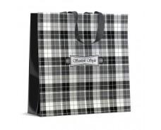 Хозяйственная сумка полипропиленовая  (40*40) Скотч Стайл (10 шт)