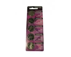 Элемент питания (батарейка) Таблетки Toshiba 2032 (А5) (5 шт)