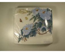 Красивая салфетка (ЗЗхЗЗ, 20шт)  La Fleur  Восточная ветка 501 (1 пач)