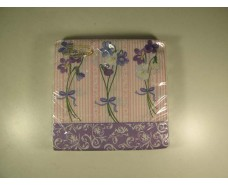 Праздничная салфетка (ЗЗхЗЗ, 20шт)  La Fleur  Цветущая радость 503 (1 пач)