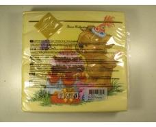 Салфетка декор (ЗЗхЗЗ, 20шт) Luxy  Торт для мишки 1009 (1 пач)