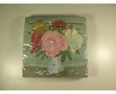 Салфетка (ЗЗхЗЗ, 20шт) Luxy  Цветущий натюрморт 704 (1 пач)