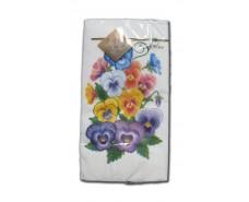 Красивая салфетка (ЗЗхЗЗ, 10шт) Luxy MINI Анютын цветок 2001 (1 пач)