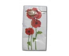 Салфетка декор (ЗЗхЗЗ, 10шт) Luxy MINI Цветок победы 2002 (1 пач)