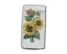 Салфетка декор (ЗЗхЗЗ, 10шт) Luxy MINIСолнечный цветок 2008 (1 пач)