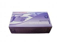 Перчатки Нитрил Фиолетовые  (100шт) M (1 пач)