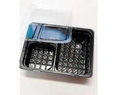 Блистерная упаковка ПС-66ДЧ+ПС-66К для имбиря, васаби и соевоего соуса (50 шт)