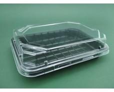 Упаковка для суши ПС-63ДЧ (16,8/11,5)+ПС63К  (50 шт)