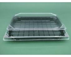 Упаковка для суши ПС-64Д (20,5/13,5)+ПС64К  (50 шт)