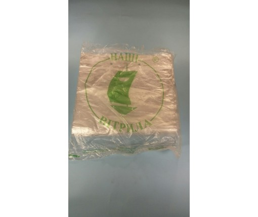 Блок-пакети п/е 250*420/0.01 Леоми  (по 100шт) прямоугольный  (1 пач)