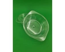 Тарелка одноразовая  стеклоподобная диаметр 500 мл  прозрачная (10 шт)