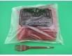 Вилка «Super» стеклоподобная  Юнита красная (100 шт)
