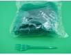 Вилка «Super» стеклоподобная  Юнита зеленая (100 шт)