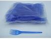 Вилка  «Super» синяя  Юнита (100 шт)