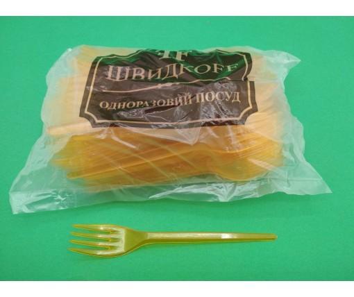 Вилка  «Super»  оранжевая  Юнита (100 шт)