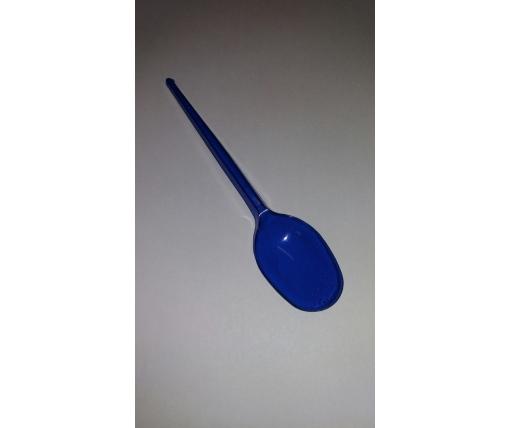 Ложка одноразовая   столовая синий Юнита (100 шт)