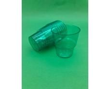 Стакан стеклоподобный (без ножки) 200 гр зеленый 36Х25 (25 шт)