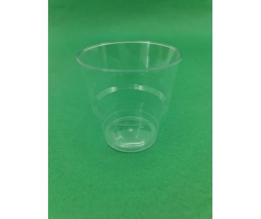 Стакан стеклоподобный (без ножки) 200 гр прозрачный 36Х25 (25 шт)