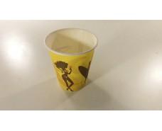 Стакан для горячих напитков 180 мл цветной  Аркапласт (50 шт)