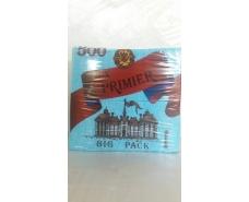 Бумажная салфетка  500лист Премьер Бирюза (1 пач)