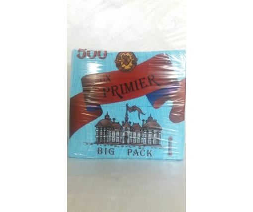 Бумажная салфетка  500лист Премьер Бирюза (1 пачка)