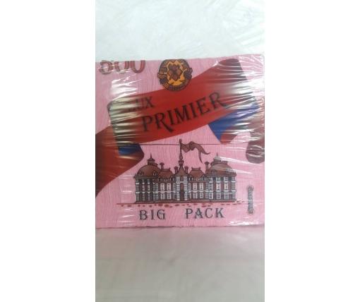 Бумажная салфетка 500лист Премьер Малиновый (1 пач)