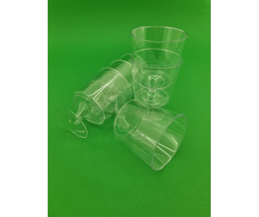 Рюмка стеклоподобная (на ножке)200 гр (8 шт)