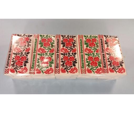 ᐉ Бумажный  носовой платок   (Орнамент) Одесса (10 шт)