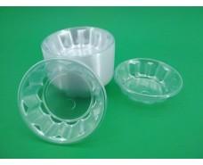 Одноразовая креманка пластиковая прозрачная (100 шт)