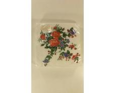 Праздничная салфетка (ЗЗхЗЗ, 20шт)  La Fleur  Бабусин букетик (1 пач)