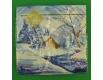 Дизайнерская салфетка (ЗЗхЗЗ, 20шт) LuxyНГ Зимний этюд (1 пач)