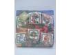 Новогодняя салфетка (ЗЗхЗЗ, 20шт) LuxyНГ Открытка на Раждество (1 пачка)