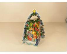 Новогодняя коробка для конфет №107 Б ( Елка 700) (25 шт)