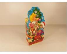 Новогодняя коробка для конфет №108 а ( Дети и игрушки 700) (25 шт)