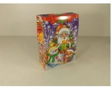 Новогодняя коробка для конфет №120 (Марки 600) (25 шт)