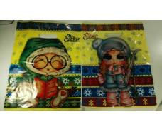 Пакет с прорезной ручкой (30*37+3) Детский мир Н.Г.