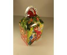 Новогодняя коробка для конфет №001а(Дети  700гр) (25 шт)